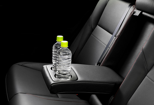 Rear Seat Armrest with Cup Holders