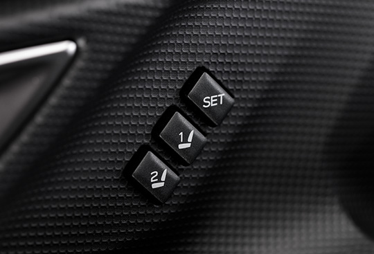 Seat Position Memory Switch