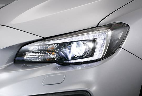 LED Steering Responsive Headlights (SRH)<sup>*2</sup>