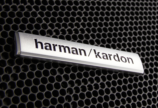Premium Audio System with<br>Harman/Kardon Audio System