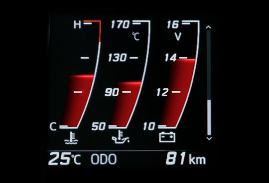 Temperature Gauge Display