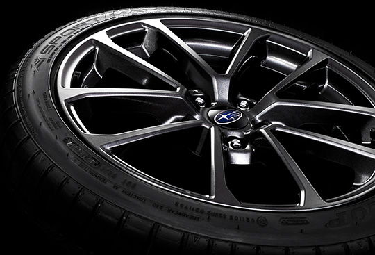 18-inch Aluminium-alloy Wheels (Dark Gun Metallic)