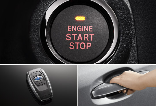 Keyless Access <br>  with Push-button Start