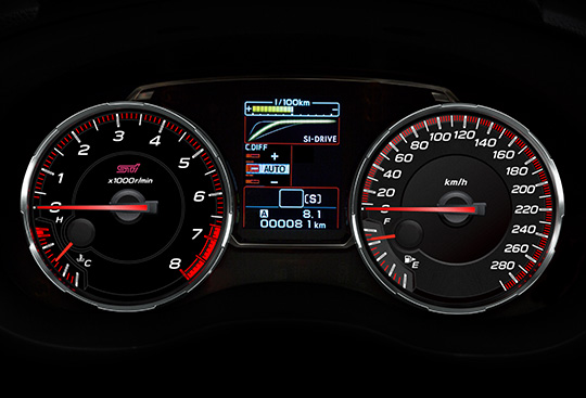 Sport Gauges with LCD Display
