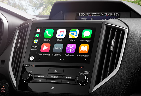 Apple CarPlay <sup>*1</sup> and Android Auto <sup>*2</sup>