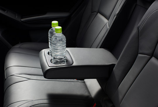 Rear Seat Centre Armrest with 2 Cup Holders